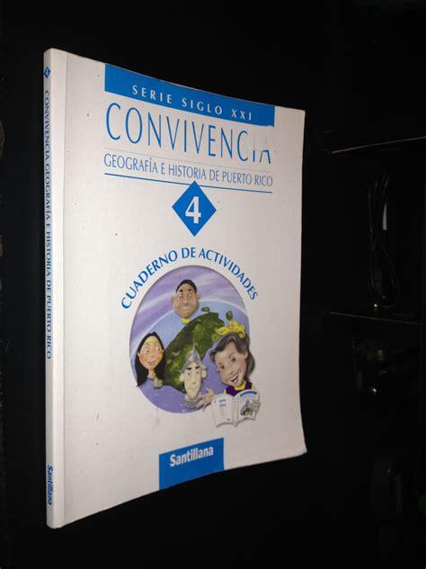 geografia i historia serie 849047530x convivencia geografia e historia de puerto rico 4 serie