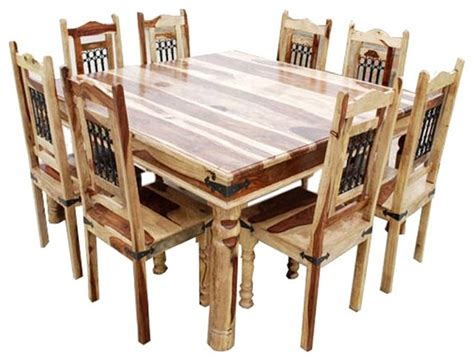 9 dining room sets dallas 9pc wood square dining set dining sets by