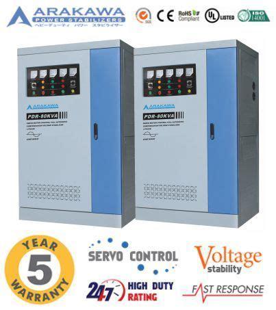 Stabilizer Arakawa Pdr 3 Phase Pdr 400kva jual stabilizer 80 kva automatic pdr automatic