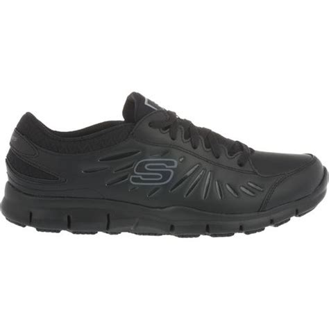 s slip resistant shoes academy skechers s eldred slip resistant service shoes