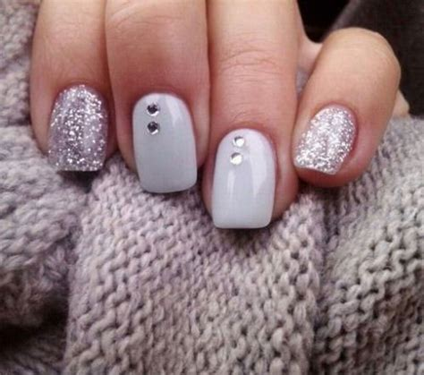 basic design nail 20 simple easy winter nail designs ideas