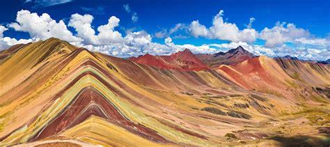 the colors of the mountain the seven colour mountain ausangate peru