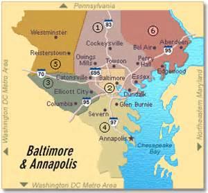 Baltimore City Zip Code Map by Baltimore City Zip Code Map