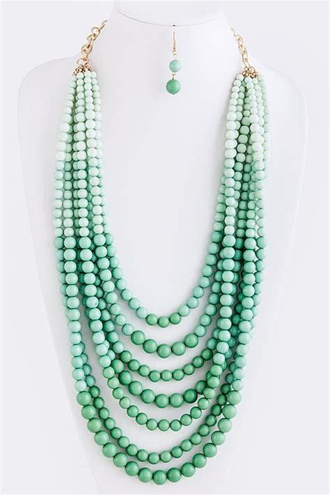 how to make statement jewelry 25 best ideas about beaded statement necklace on