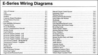 2006 ford econoline van amp club wagon wiring diagram manual