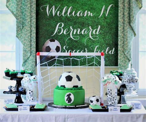 Baby Shower Soccer Theme by Sport Soccer Baby Shower Ideas Photo 4 Of 17