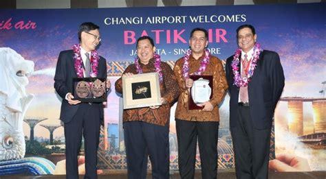 batik air changi airport batik air resmikan penerbangan ke singapura airmagz