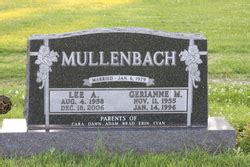 anthony mullenbach 1958 2006 find a grave memorial