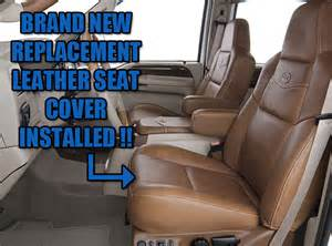 2003 2007 ford f 250 king ranch leather seat cover driver