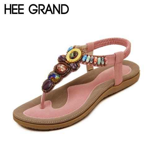 s sandals with bling hee grand bohemia sandals summer style bling rhinestone t