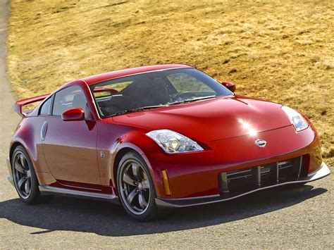 nissan red nissan 350z cars