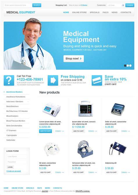 12 medical virtuemart templates free premium themes
