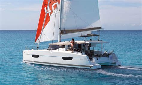 catamaran sailboat design catamarans sailboat lucia 40 fountaine pajot