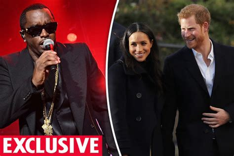 Did Diddy Knock Up by Meghan Markle And Prince Harry P Diddy Offers To Perform