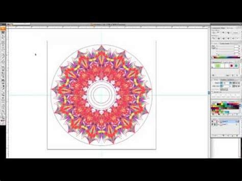 vector kaleidoscope tutorial create a vector lotus flower illustrator tutorial doovi