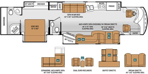 best rv floor plans demartini rv sales new and used motorhome dealer