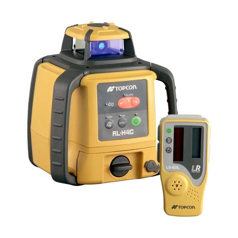 slope level topcon rl h4c rotary slope laser level with ls 80l