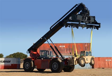 5k light capacity rough terrain forklift lcrtf kalmar rt completes military contract news article
