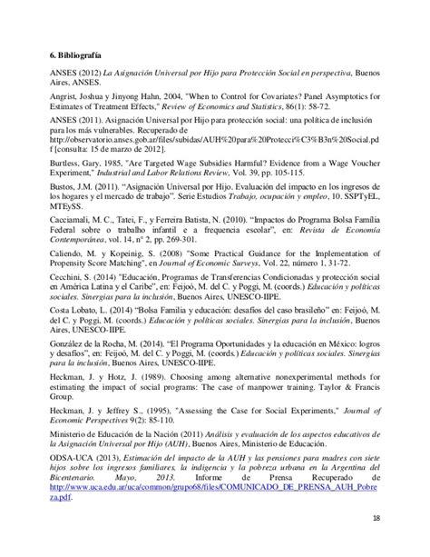 www anses gob ar asignacin familiar para monutributista efectos de la asignaci 243 n universal por hijo en el ingreso