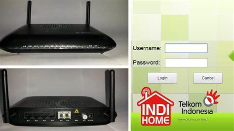 Modem Router Indihome konfigurasi modem indihome