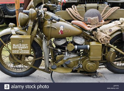 Vintage Harley Davidson Photos by Vintage Vehicles Stock Photos Vintage