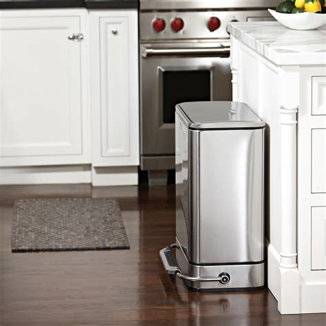 Simplehuman Kitchen Trash Can by Simplehuman In Cabinet Trash Can Manicinthecity