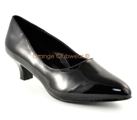pleaser wide width womens 2 quot high heels evening shoes ebay