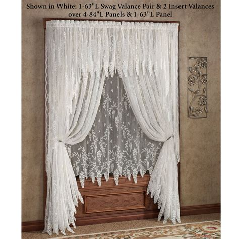 jcpenney lace curtains jcpenney shari lace curtains mccurtaincounty