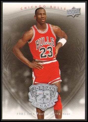 Michael Rookie Of The Year Card Mba Hoops by Pin By The Dusty On Sports Cards