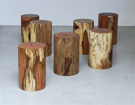 log stool 1000 chairs