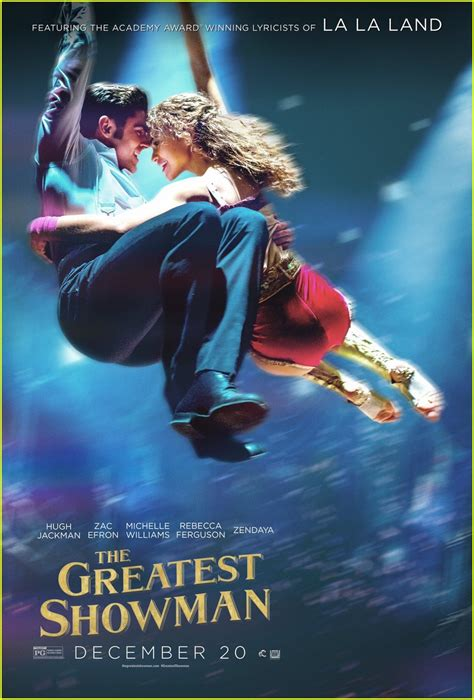 new movies releases the greatest showman by zendaya zac efron zendaya fly away in new greatest showman posters photo 3983314 greatest showman