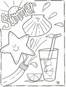 Kids Backyard Pool Summer Coloring Pages