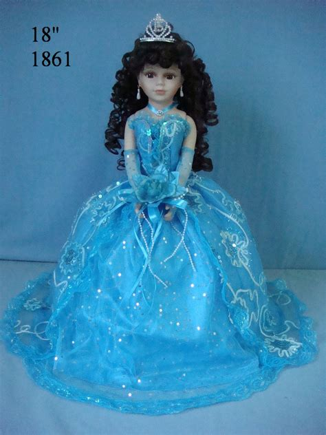 porcelain quinceanera doll 1861turquies 18 inches quinceanera umbrella dolls