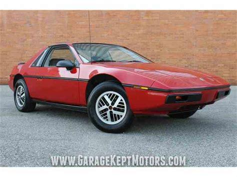 1984 pontiac fiero classic pontiac fiero for sale on classiccars 20