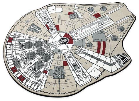 the millennium falcon floorplan star wars the making of vii the force awakens pinterest star wars millennium falcon printed rug thinkgeek