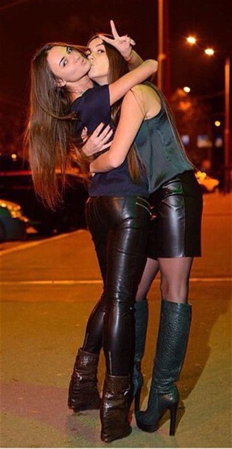 Skin tight panties on lesbians