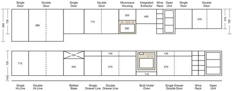 Width Of Kitchen Units by Wall Unit Sizes Reversadermcream