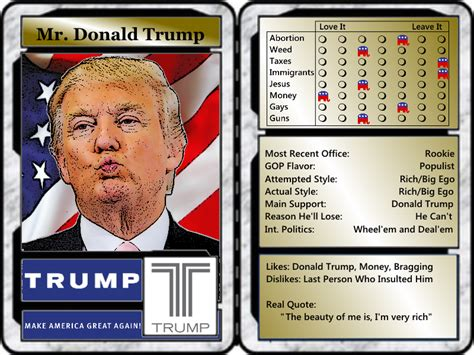 Meme Trading Cards - gop trading cards the slightly warped website