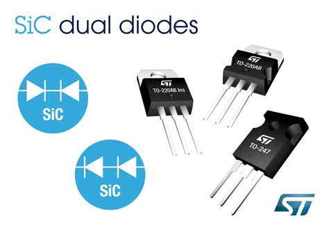 diodes sic 650v sic diodes from stmicroelectronics