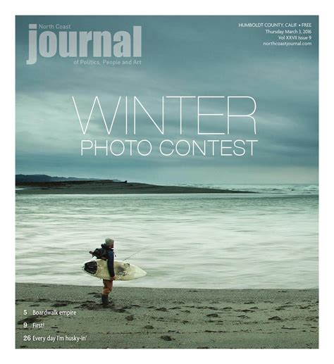 Coast Journal Calendar Coast Journal 03 03 16 Edition By Coast