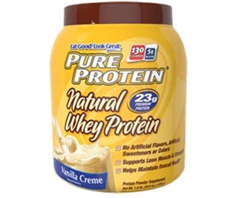 Acting Protein Protein Whey Protein Powder Vanilla Creme