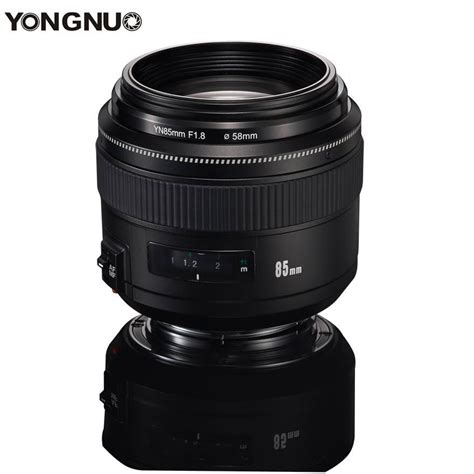 Yongnuo 85mm F 1 8 Lens For Canon yongnuo 85mm f 1 8 lens is now available canonwatch