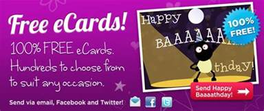 send e birthday card free ecards