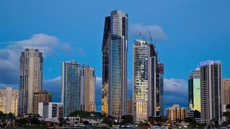 wallpaper stockists gold coast looking at highrise buildings on the gold coast queensland