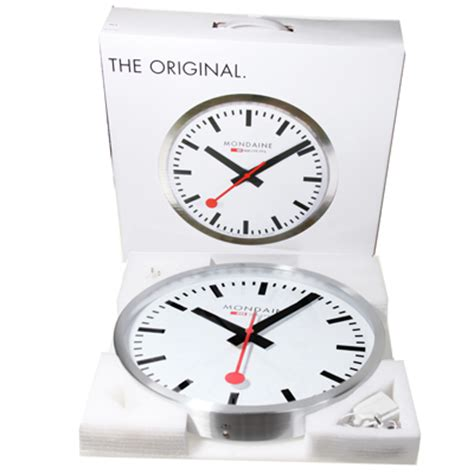 mondaine wall clock mondaine a995 clock 16sbb railways clock wall clock 40cm