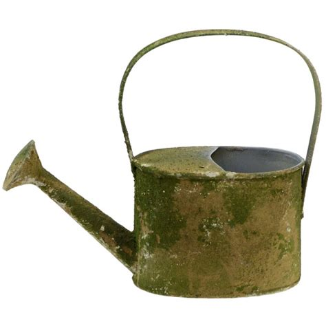 Decoration Watering Can 9 quot decorative mossy tin watering can kq868236 craftoutlet