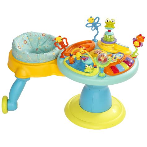 doodle bugs around we go bright starts cheap baby einstein activity table
