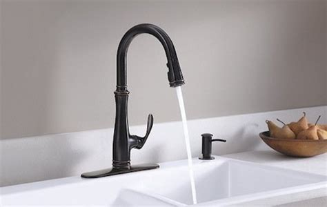 kohler rubbed bronze kitchen faucet the bronze age for fixtures bob s blogs