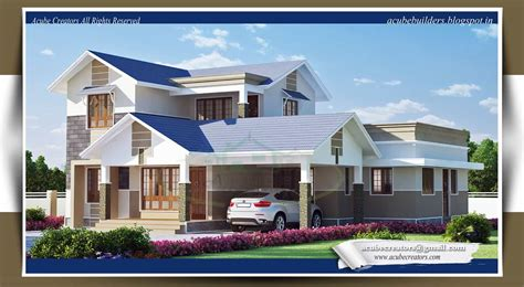 home plans 2013 latest kerala style home design at 2169 sq ft