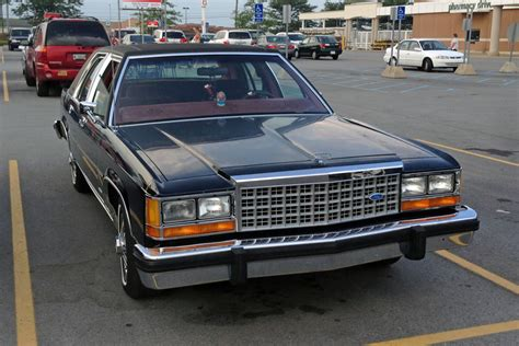curbside classic 1985 ford ltd crown victoria helloooooooo kitty curbside classic 1985 ford ltd crown victoria helloooooooo kitty